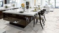 Vorschau: Tarkett Klebevinyl ID Inspiration 55 NATURALS Carrara Grande White Küche