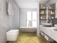 Vorschau: TFD Floortile Klebevinyl Ossi 1 Badezimmer