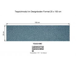 GIRLOON Teppichmodule TOUCH MO 441 selbsthaftend