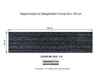 INFLOOR Teppichmodule COVER MO 001-590 selbsthaftend