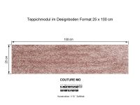INFLOOR Teppichmodule COUTURE MO 121 selbsthaftend
