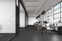 Vorschau: TFD Floortile Klebevinyl Woven L+ Herringbone 505 Büro