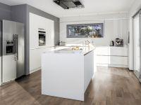 Vinylboden in naturbrauner Farbe in der Küche