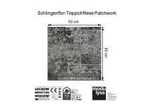 Vorschau: Modulyss Teppichfliese Patchwork 995 Maß