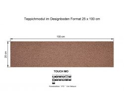 GIRLOON Teppichmodule TOUCH MO 851 selbsthaftend