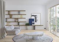 Vorschau: Tarkett Klebevinyl ID Essential 30 Soft Oak WHITE Wohnzimmer