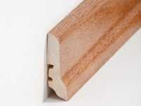 Holz Sockelleiste Klassisch Eiche rustikal 20 x 60 x 2500 mm
