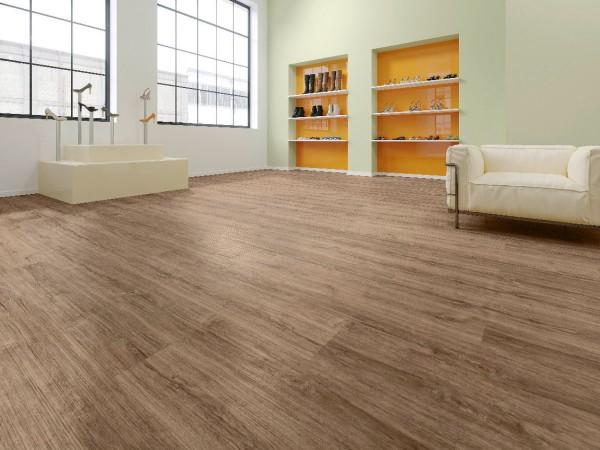 Vinylboden Design 555 Brown Cracked Oak
