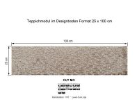 INFLOOR Teppichmodule CUT MO 841 selbsthaftend