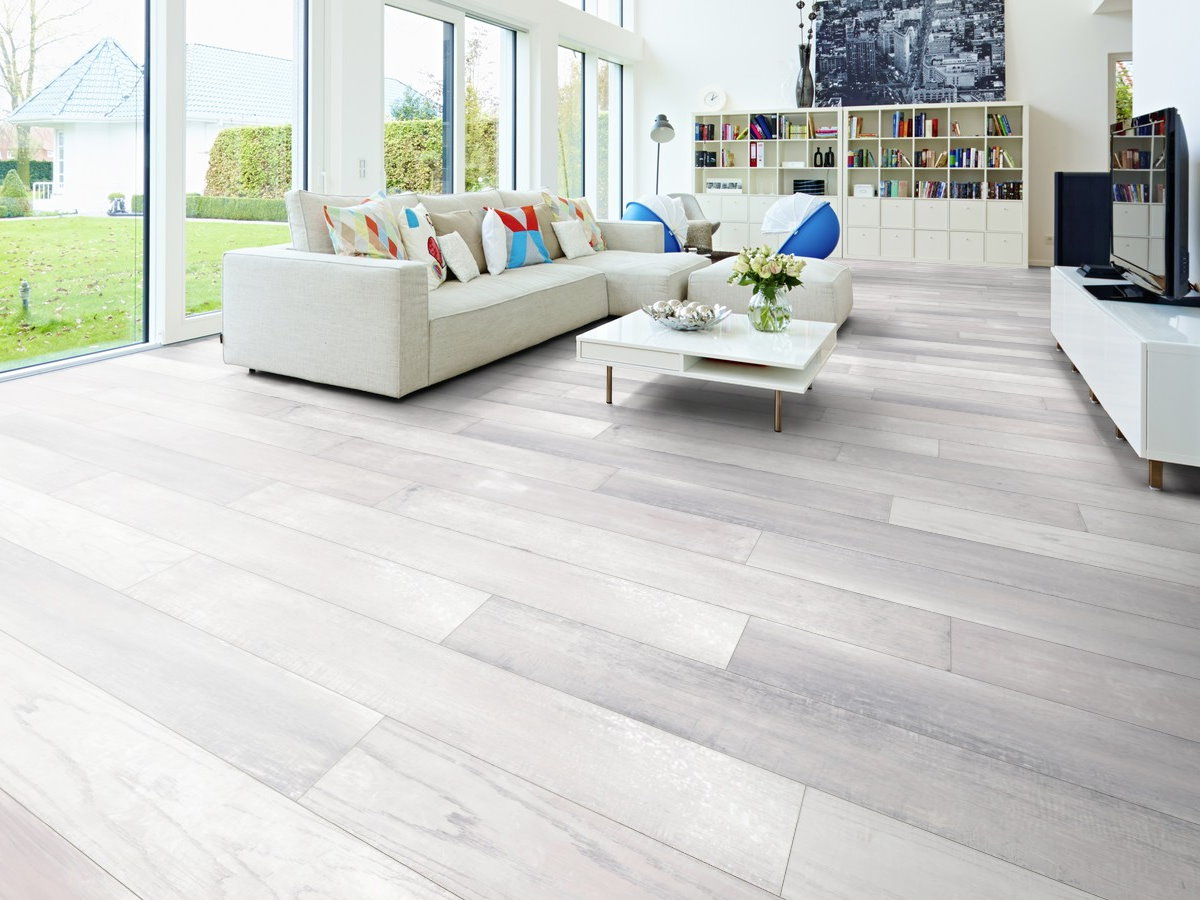 Avatara Designboden 5.5 Comfort K51 Eiche Apera silbergrau