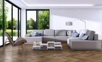 Vorschau: TFD Floortile Klebevinyl Ossi 3 Wohnzimmer