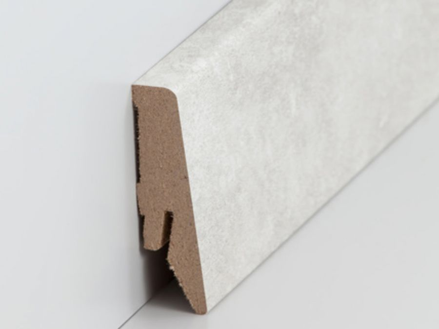 MDF Sockelleiste Modern Marmor 18 x 58 x 2500 mm