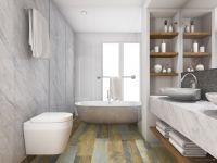 TFD Floortile Klebevinyl Experience 2 Badezimmer