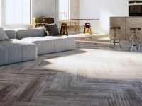 Teppichboden Meterware in moderner Holzoptik