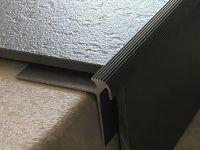Treppenkantenprofil 135 bronze dunkel