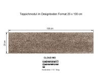 INFLOOR Teppichmodule CLOUD MO 861 selbsthaftend
