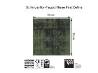 Modulyss Teppichfliese First Define 625