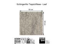 Vorschau: Modulyss Teppichfliese Leaf 130 Maß