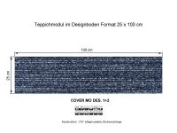 INFLOOR Teppichmodule COVER MO 001-360 selbsthaftend