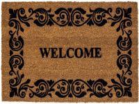 Kokosmatte Coco Design Welcome