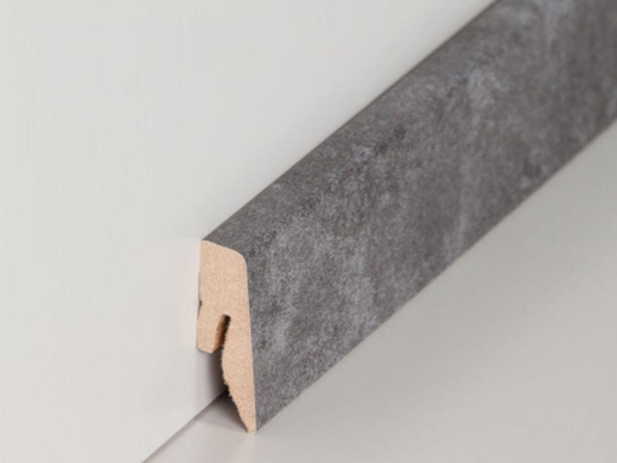 MDF Sockelleiste Modern Basalt 15 x 40 x 2500 mm
