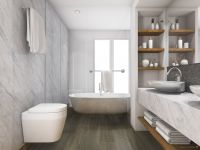Vorschau: TFD Floortile Klebevinyl Style Pro 1 Badezimmer