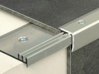 Vorschau: Treppenkantenprofil 331 Edelstahl matt