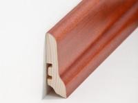 Holz Sockelleiste Klassisch Mahagoni 20 x 60 x 2500 mm
