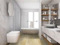 Vorschau: TFD Floortile Klebevinyl Style Pro 9 Badezimmer