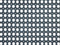 Vorschau: Gummimatte Quadro schwarz