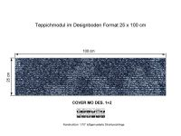 INFLOOR Teppichmodule COVER MO 002-360 selbsthaftend