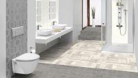 Tarkett Klebevinyl ID Inspiration 70 NATURALS Patina Concrete Medium Grey Badezimmer