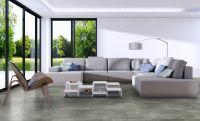 Vorschau: TFD Floortile Klebevinyl Style Stone Concrete 10 Wohnzimmer