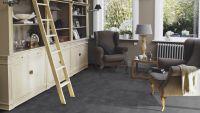 Vorschau: Tarkett Klebevinyl ID Inspiration 30 CLASSICS Vintage Zinc Black Wohnbereich