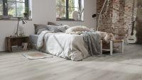 Tarkett Klebevinyl ID Inspiration 70 CLASSICS Contemporary Oak Grey Schlafzimmer