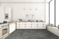 Vorschau: TFD Floortile Klebevinyl Style Stone Concrete 9 Küche