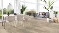 Vorschau: Tarkett Klebevinyl ID Inspiration 55 NATURALS Sediment Beige Wohnzimmer