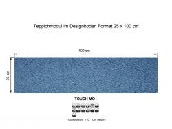 GIRLOON Teppichmodule TOUCH MO 321 selbsthaftend