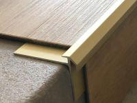 Vorschau: Treppenkantenprofil 491 gold hell