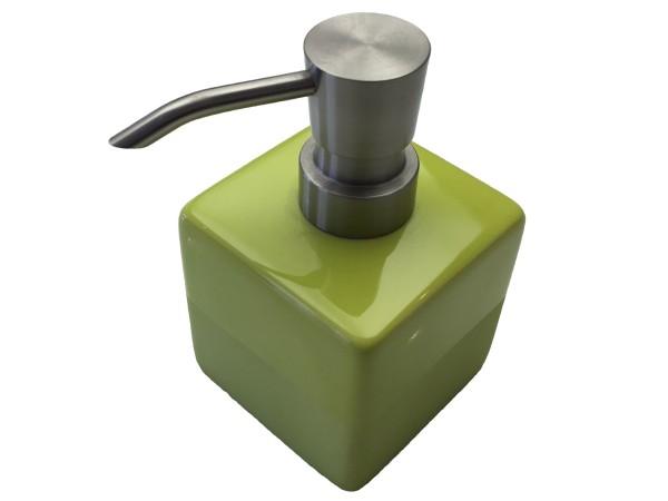 Seifenspender Paintbox grün 12 cm