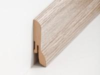 Vorschau: MDF Sockelleiste Klassisch Eiche beige 20 x 60 x 2500 mm