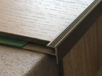 Prinz Treppenkantenprofil 176 Edelstahl matt