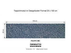 GIRLOON Teppichmodule PACIFIC MO 360 selbsthaftend