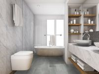 TFD Floortile Klickvinyl Steady 5406-B Rigid Badezimmer