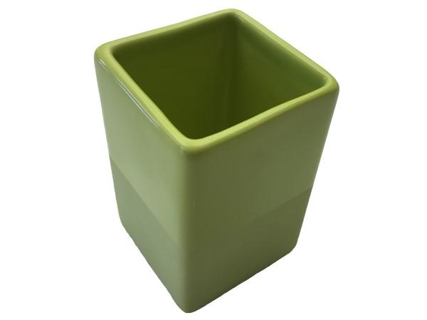 Zahnputzbecher Paintbox grün