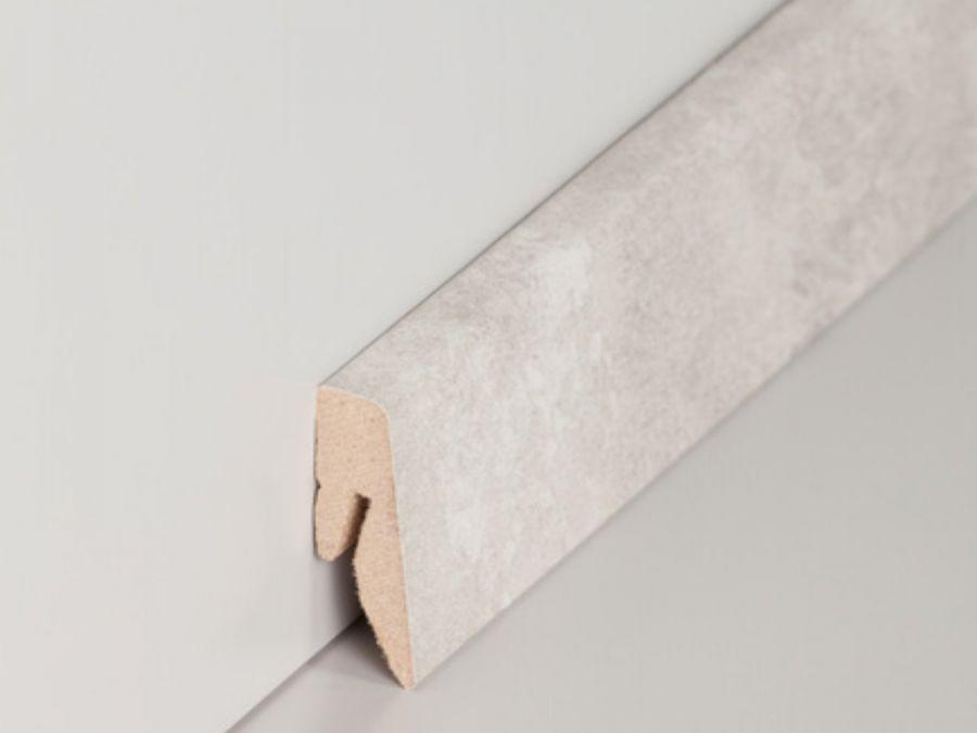 MDF Sockelleiste Modern Marmor 15 x 40 x 2500 mm