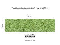 Infloor Teppichfliesen Cottel Mo 445 selbsthaftend
