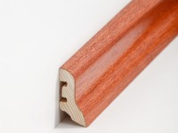 Holz Sockelleiste Klassisch Merbau 20 x 40 x 2500 mm
