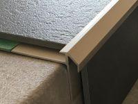 Treppenkantenprofil 492 Edelstahl matt