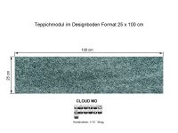 INFLOOR Teppichmodule CLOUD MO 441 selbsthaftend